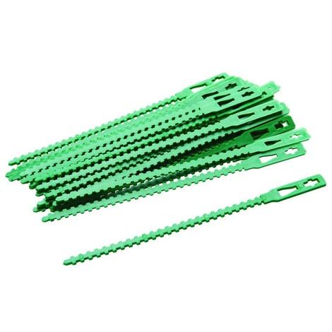 Attaches réglables pour plantes, 30 pcs 135 mm