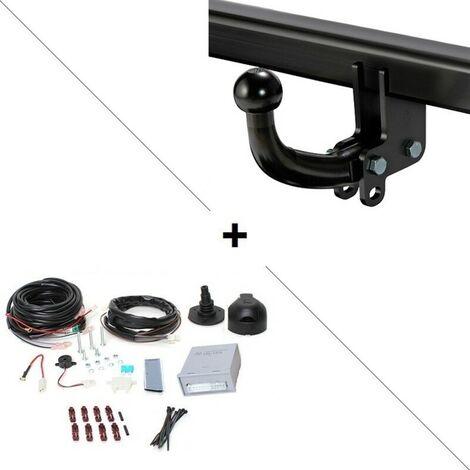 Attelage Ford Focus Coffre (04/18-) Col de cygne + faisceau universel 7 broches + boitier électronique