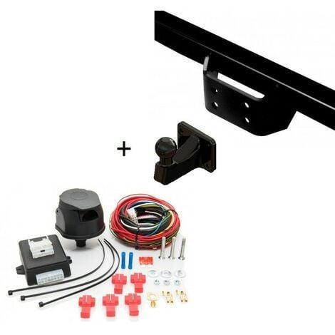 Attelage Iveco Daily 35C / 40C / 45C / 50C (Fourgon 10/06-12/10) Standard + faisceau universel 7 broches + boitier électronique