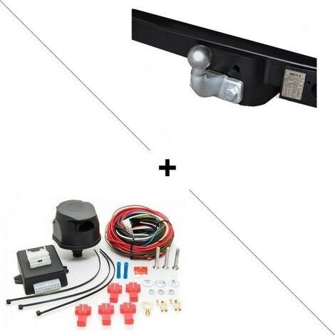 Attelage Master Traction Roues simples sans marchepied (02/10-) Standard + faisceau universel 7 broches + boitier électronique