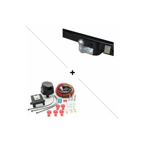 Attelage Opel Movano Traction Roues simples (02/10-) Standard + faisceau universel 7 broches + boitier électronique