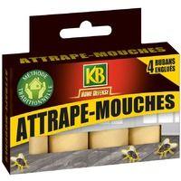 Attrape-mouches ruban KB Home Defense - Vendu par 4