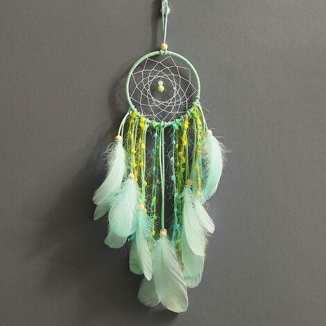 Attrape-rêves Attrape-rêves avec perles Plume pour décoration de chambre