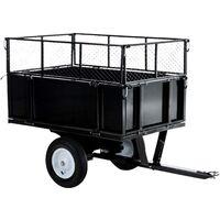 ATV Anhänger-schwarz