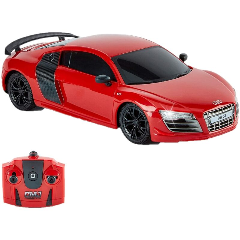 Image of R8 GT Radio Controlled Car (One Size) (Red) - Audi