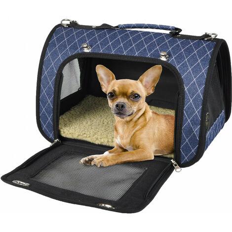 Audrey bolsa de transporte 36 x 21 x 23 cm para pequeños animales gato o perro