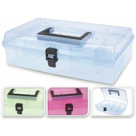 Aufbewahrungsbox, 29,5x18,5x8,5 cm, verschiedene Farben