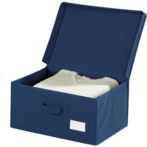 Aufbewahrungsbox Kleiderbox Deckel Korb Kiste Stapelbox Lagerbox Faltbox Air L
