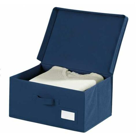 Aufbewahrungsbox Kleiderbox Deckel Korb Kiste Stapelbox Lagerbox Faltbox Air S