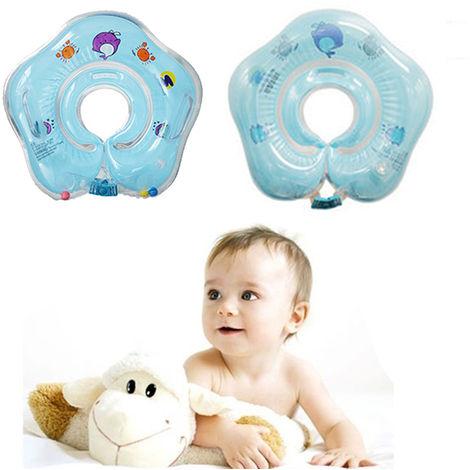 Aufblasbarer Hals Schwimmring Kinder Baby Säuglings Schwimmhilfe Schwimmkragen