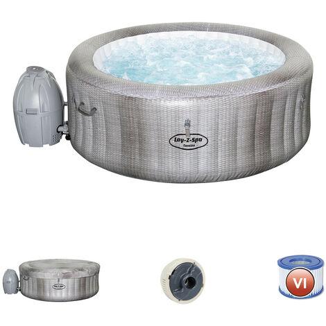 Aufblasbarer Whirlpool Bestway Lay- Z-Spa Cancun Für 2-4 Personen Rund- 54286