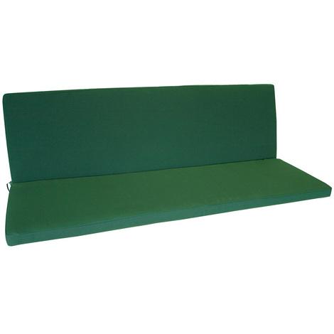 Auflage DENVER für Bank 2-sitzer, dunkelgrün