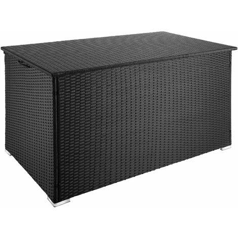 Auflagenbox mit Aluminiumgestell Stockholm, 145x82,5x79,5cm - Gartenbox, Kissenbox, Gartentruhe