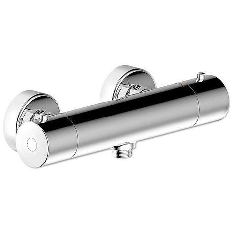 Aufputz-Brause-Thermostat-Mischer BRAVAT OSLO - chrom - 3517092