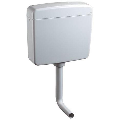 Aufputz Spülkasten Topazio 2-Mengen-Technik, weiß