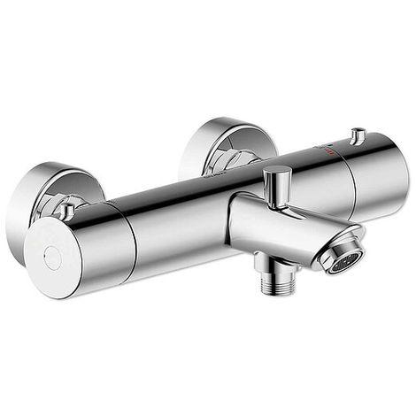 Aufputz-Wannenfüll- und Brause-Thermostat BRAVAT OSLO - chrom - 3517162