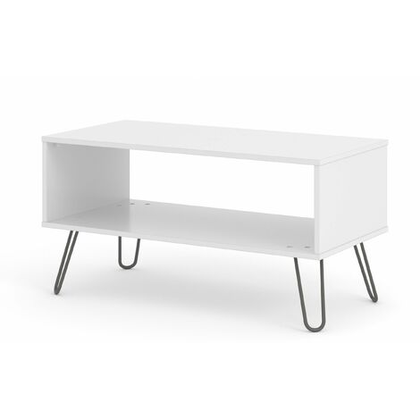 Augustine White open coffee table