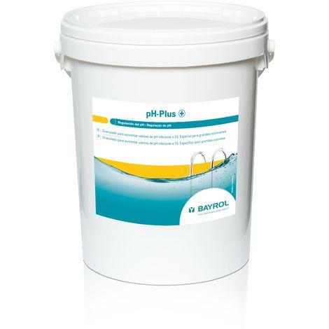 Aumentador granulado pH Plus 25 kg