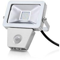 Auraglow 10W LED Motion Activated PIR Sensor Outdoor Security Light - 150w EQV