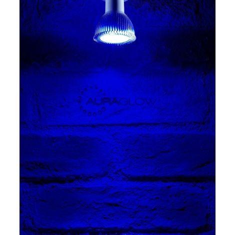 Auraglow LED Coloured GU10 Spotlight Light Bulb - BLUE
