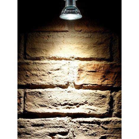 Auraglow Super Bright 6W COB LED GU10 Light Bulb Daylight Cool White 6500K 500lm Narrow Beam Angle 38 Degree – 50W Equivalent - 2 Pack