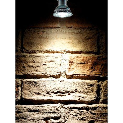 Auraglow Super Bright 6W COB LED GU10 Light Bulb Daylight Cool White 6500K 500lm Narrow Beam Angle 38 Degree – 50W Equivalent - 4 Pack
