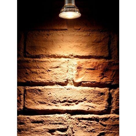 Auraglow Super Bright 6W COB LED GU10 Light Bulb Warm White 3000K 500lm Narrow Beam Angle 38 Degree – 50W Equivalent - 4 Pack
