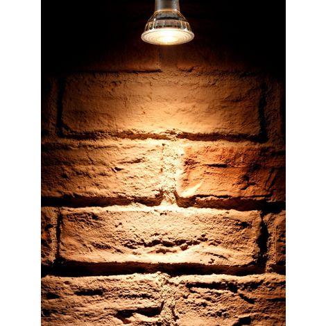 Auraglow Super Bright 6W COB LED GU10 Light Bulb Warm White 3000K 500lm Narrow Beam Angle 38 Degree – 50W Equivalent