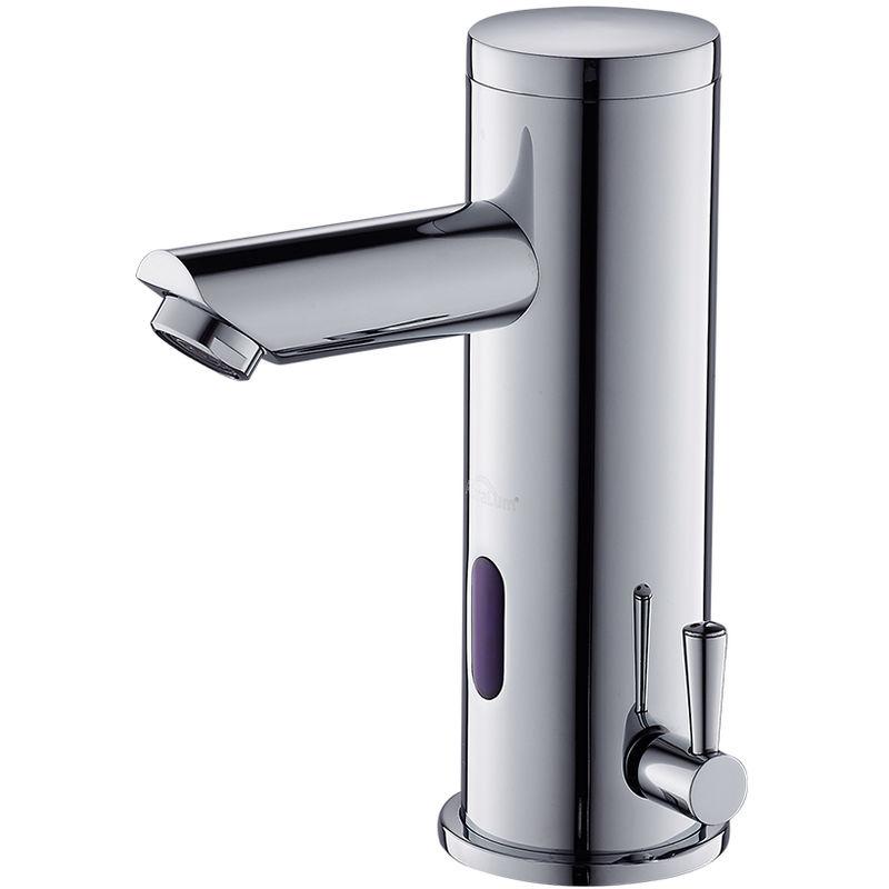 Automatisch kalt heiß Wasserhahn Badezimmer Waschtisch Infrarot Sensor Armatur