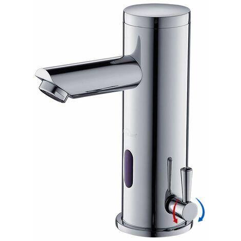 Auralum Mitigeur Automatique de lavabo Infrarouge Robinet de Lavabo Électronique