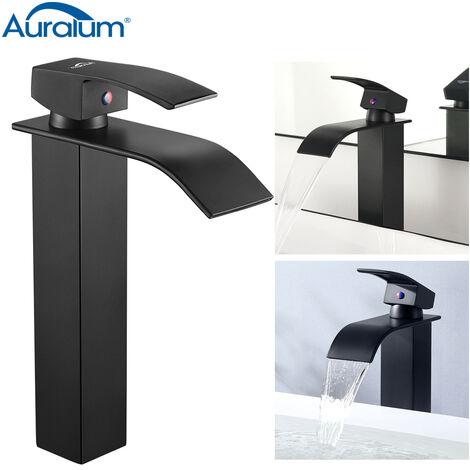 auralum mitigeur robinet de lavabo robinet cascade. Black Bedroom Furniture Sets. Home Design Ideas