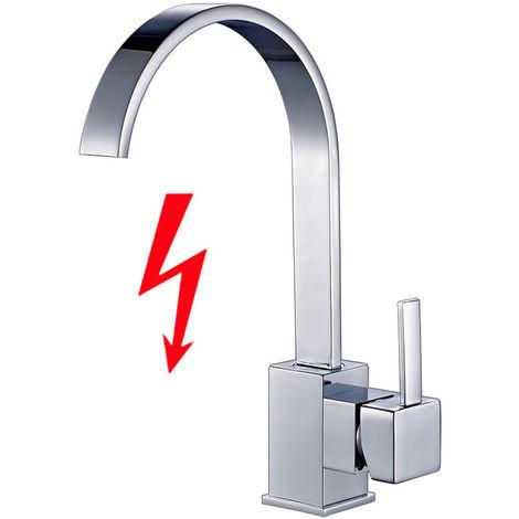 Auralum Niederdruck Wasserhahn Küche Armatur 360°drehbar Einhebel ...