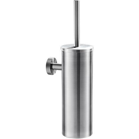 AuraLum Porte-balai WC Murale Chrome