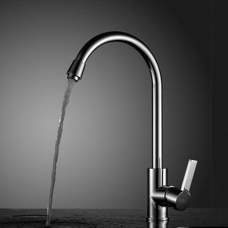 Auralum Wasserhahn Küche Küchenarmatur Armatur Spüle Spültischarmatur Mischbatterie