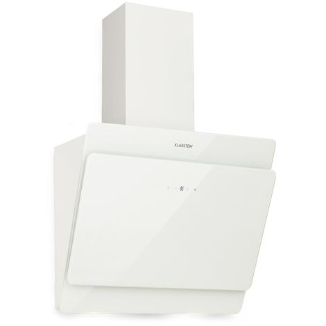 "main image of ""Aurica 60 Campana extractora 60 cm Salida: 610 m³/h LED Cristal táctil Blanco"""