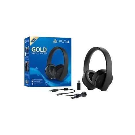 Auricular sony ps4 gold wireless headset