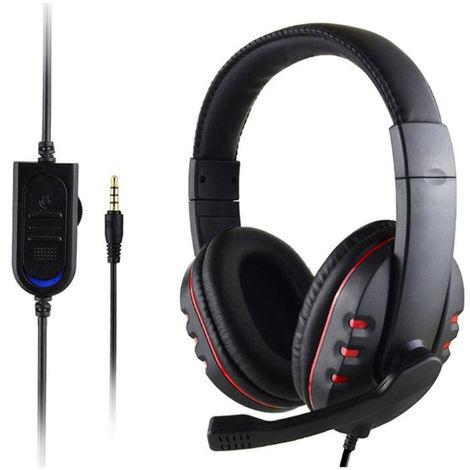 Auriculares, con conexion de cable del enchufe de 3.5mm auricular para juegos, para PS4