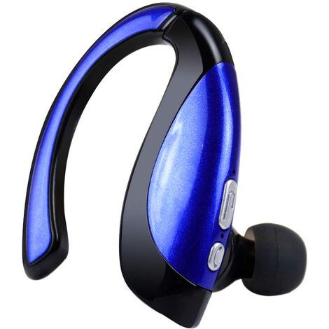 Auriculares estereo Bluetooth Wireless X16, Negro y azul