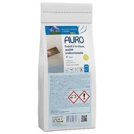 Auro - Enduit à la chaux, qualité professionnelle 3Kg - N°342 - TNT