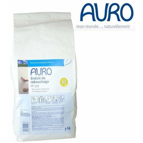 Auro - Enduit de rebouchage pour Murs intérieurs 3 Kg - N°329 - TNT