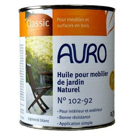 Auro - Huile pour mobilier de jardin (Nature) 0,75l - N° 102-92