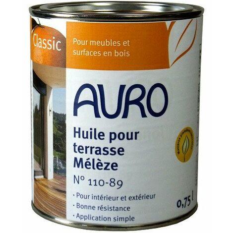 Auro - Huile pour Terrasse (Mélèze) 0,75l - N° 110-89 - TNT
