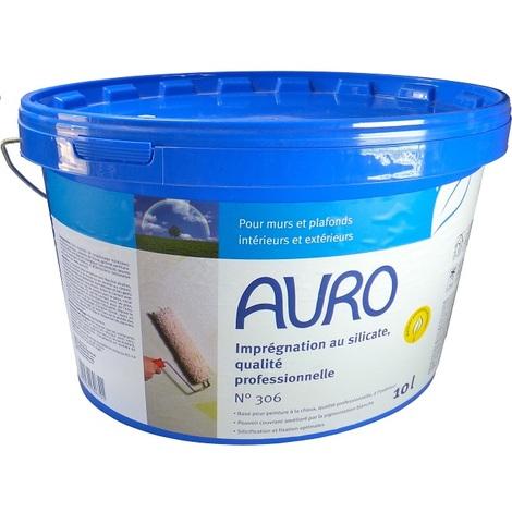 Auro - Imprégnation (sous chouche pour Peinture à Chaux) Professionnelle 10L - N °306