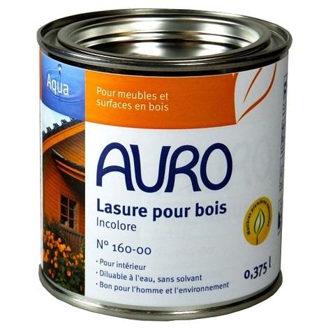 Auro - Lasure pour bois diluable (Intérieur) 0,37L - N°160-00