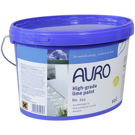 Auro - Pintura de cal profesional 1L puede cubrir 10 m2 N° 344
