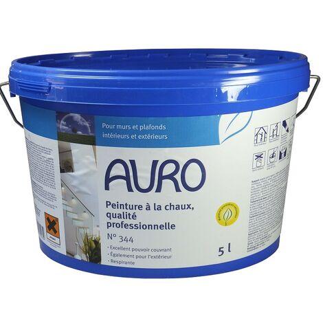 Auro - Pintura de cal profesional Interior-Exterior 10L -N°344