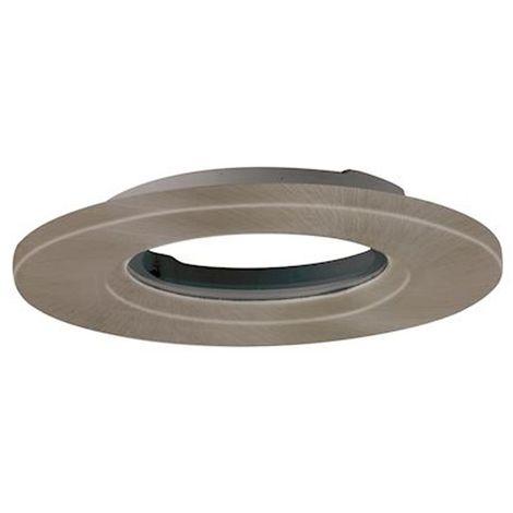 aurora aubz600sn | aurora aubz600sn - mpro collerette aluminium ip65 ronde pr spot mpro - alu brossé (sans luminaire)