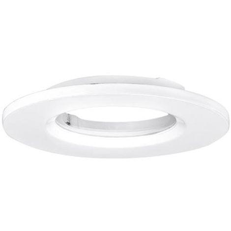 aurora aubz600w | aurora aubz600w - mpro collerette aluminium ip65 ronde pr spot mpro - blanc (sans luminaire)