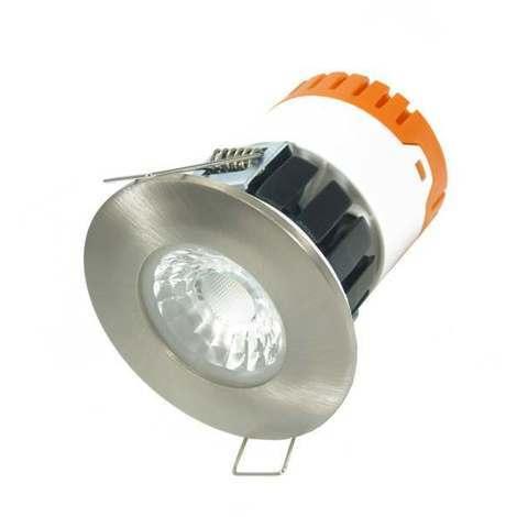 Aurora E8 LED Downlight 8W 4000K + EN-BZE8SN Satin Nickel