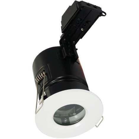 Aurora Enlite IP65 Fixed Fire Rated Downlight GU10 White